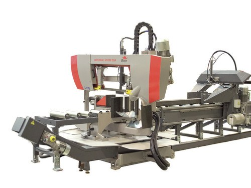 Bomar bandsaw lengthens steel capacity for Excel Robotics
