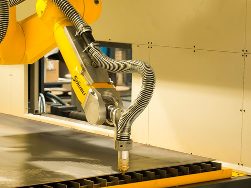 HACO Kingsland reveals the new RPC (Robot Plasma Cutting) line